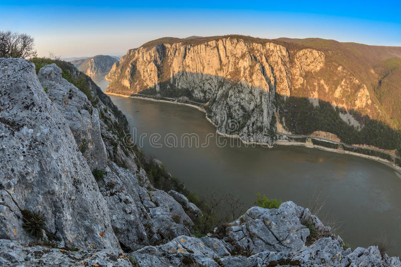 The Danube Gorges, Romania royalty free stock photography
