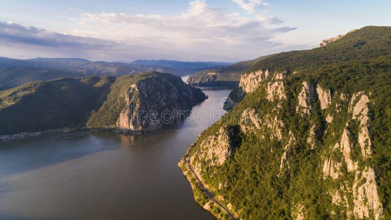 Danube Gorges, Romania royalty free stock photos