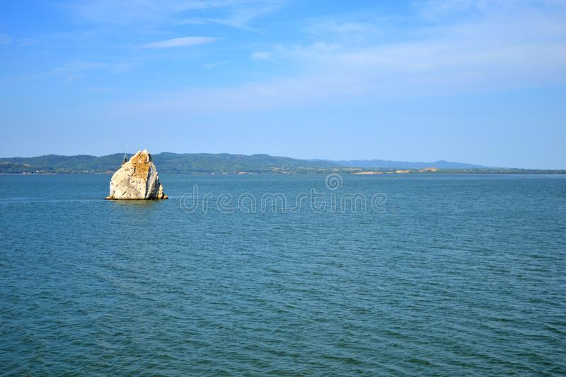 Danube stock photo