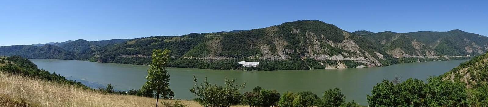Danube - Panoramic view royalty free stock images