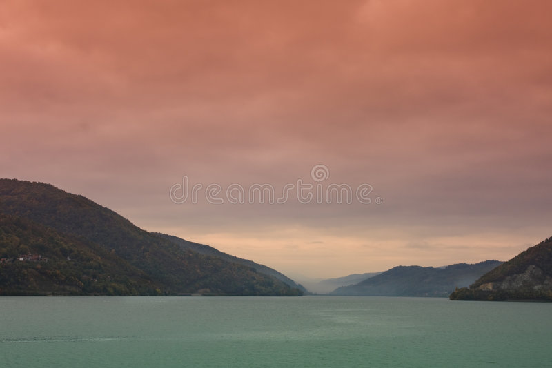 Download Danube River stock image. Image of autumn, outdoor, nature - 6830149