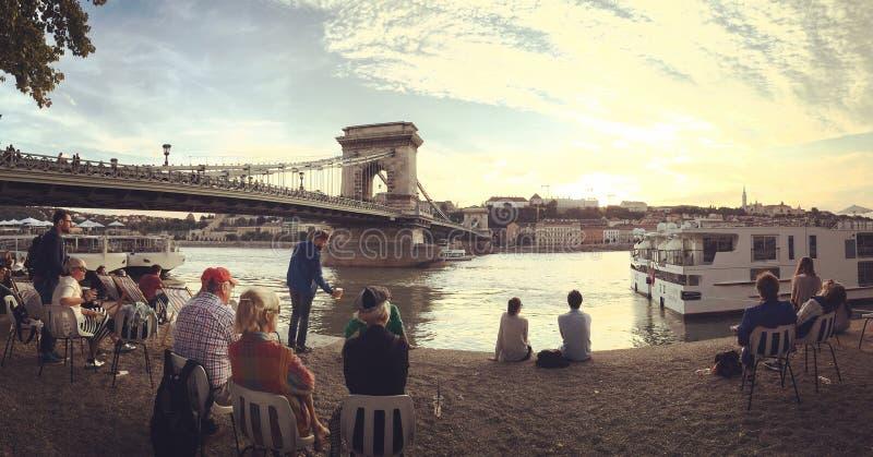 Danube River imagens de stock royalty free