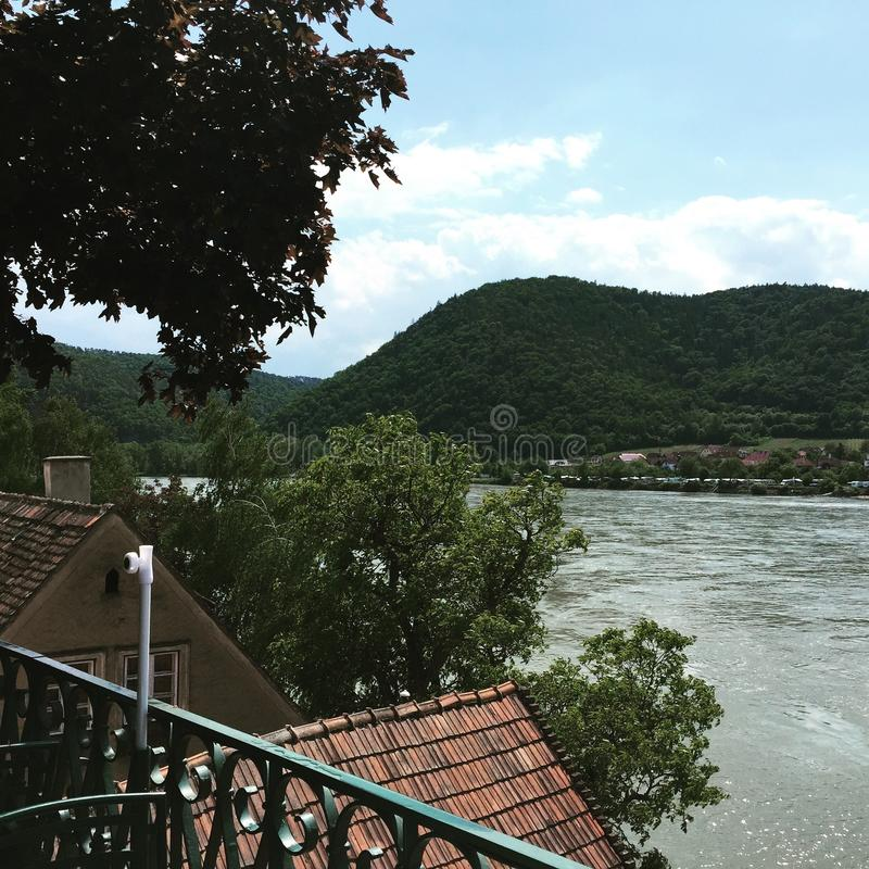 The Danube River in Wachau royalty free stock photography