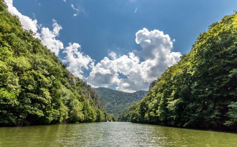 danube rzeka obraz stock