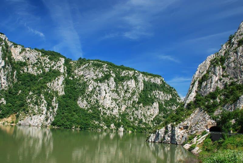 danube rzeka zdjęcie royalty free