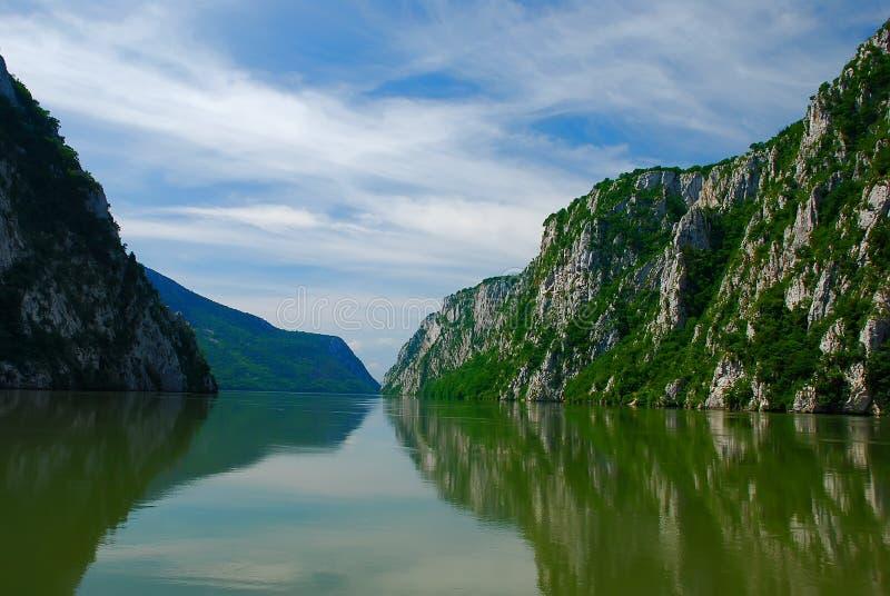 danube rzeka zdjęcie stock