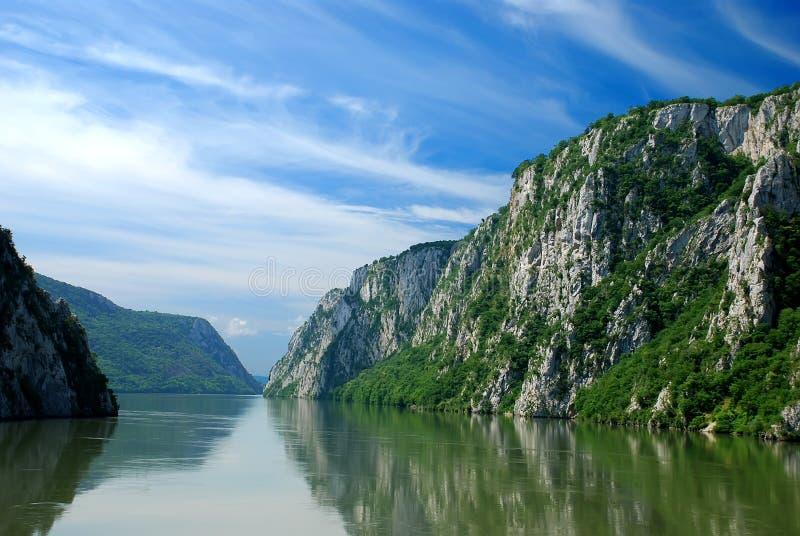danube rzeka zdjęcia stock