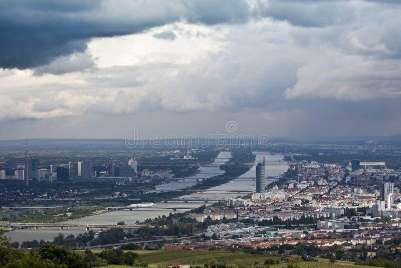 Danube Vienna stock images