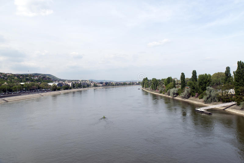 Danube view royalty free stock images