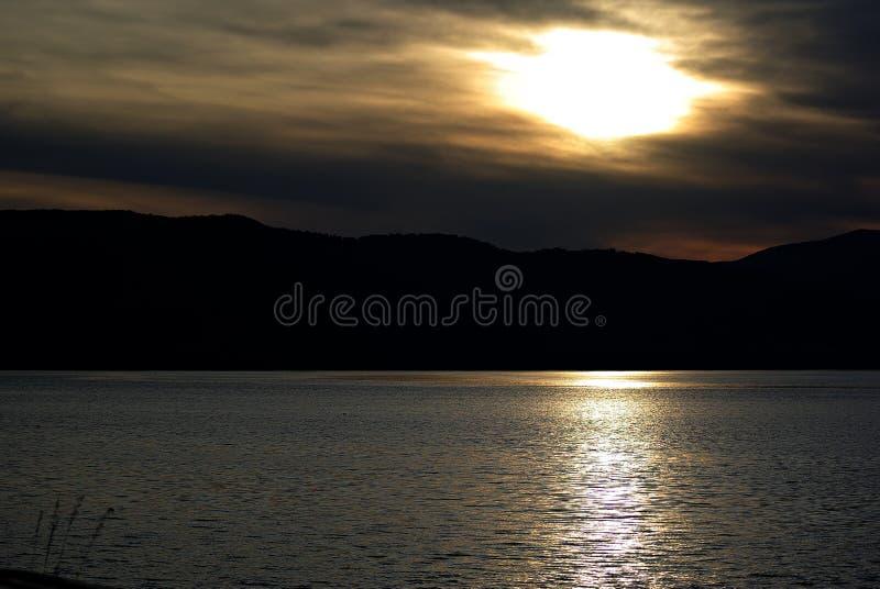 Danube zmierzch obraz royalty free