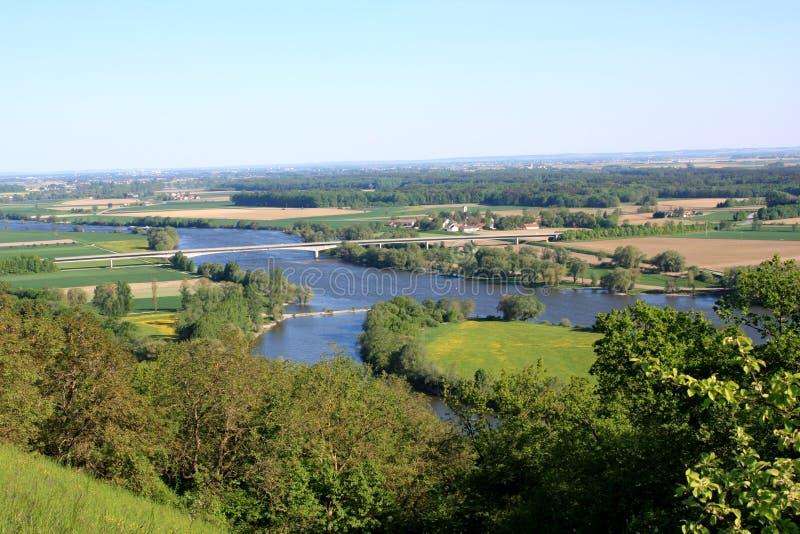 Danubio - Baviera fotografia stock libera da diritti