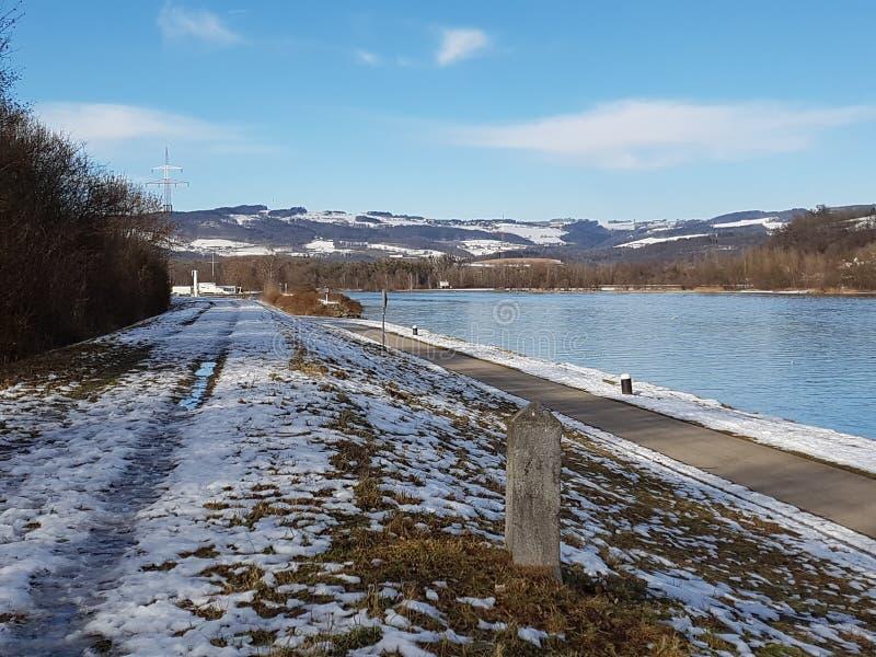 Danubio blu immagini stock