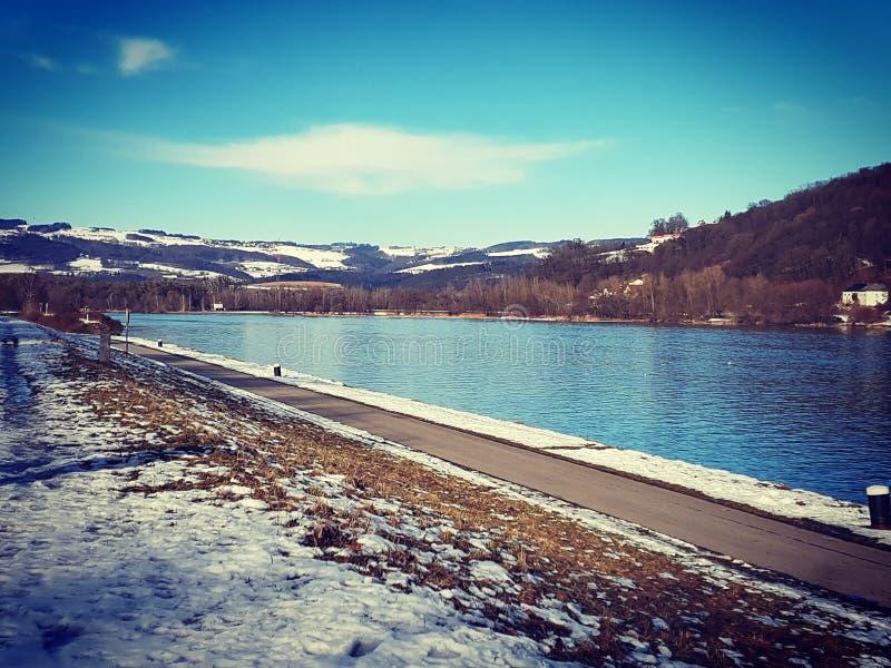 Danubio blu fotografie stock