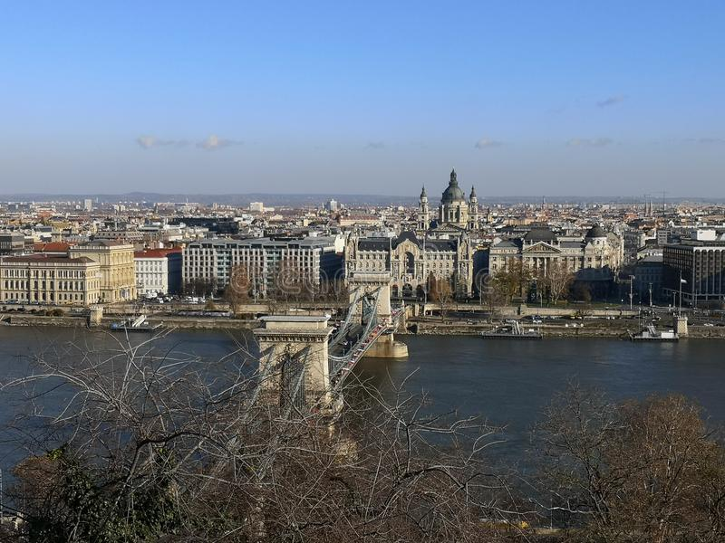 Danubio budapest royalty free stock images