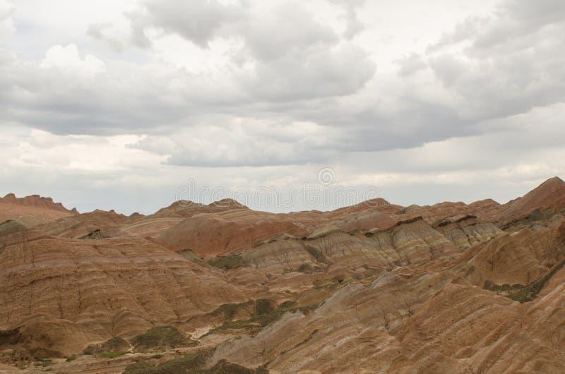 Danxia landform zdjęcia royalty free