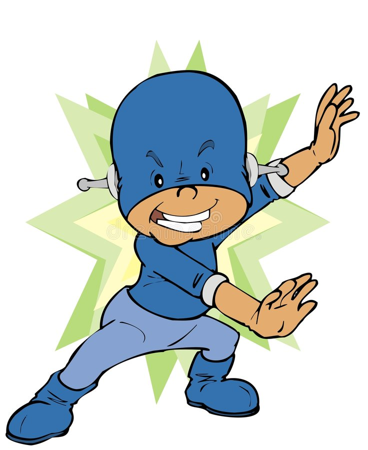 dany ήρωας μωρών διανυσματική απεικόνιση