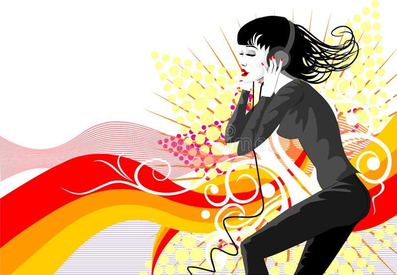 Danza background6 fotografía de archivo libre de regalías