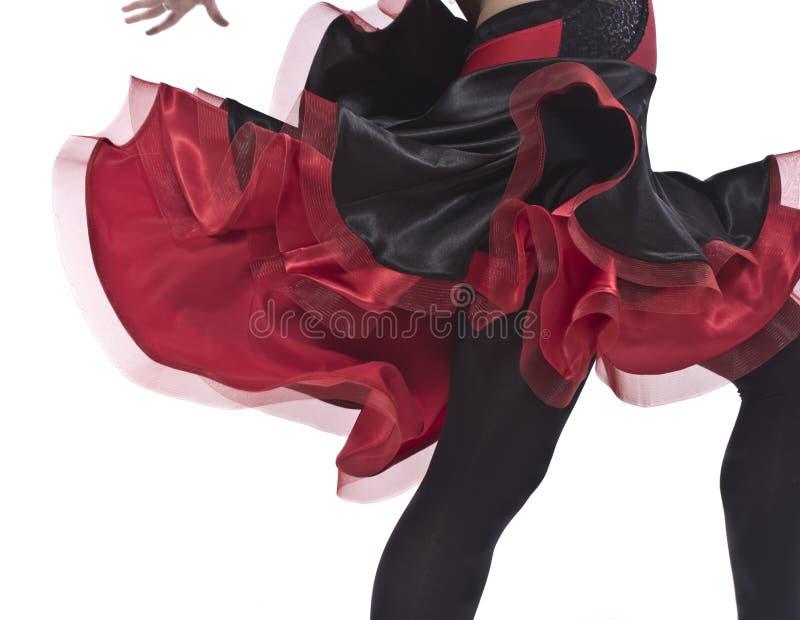 Danza caliente foto de archivo libre de regalías