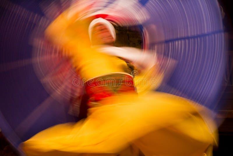 Danza con colores fotos de archivo