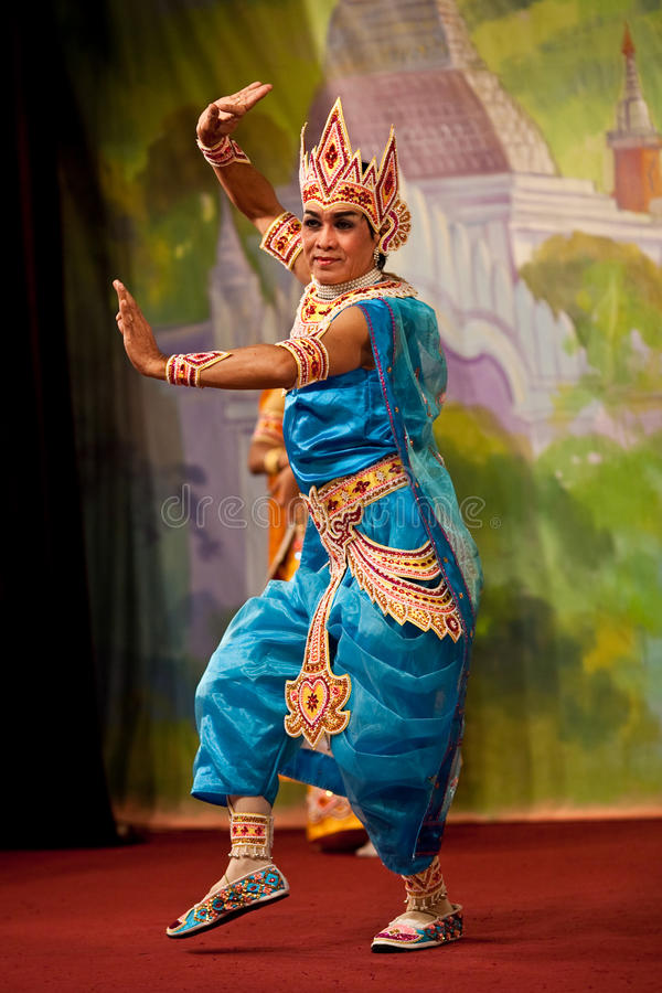 Danza de Bagan, Myanmar imagenes de archivo