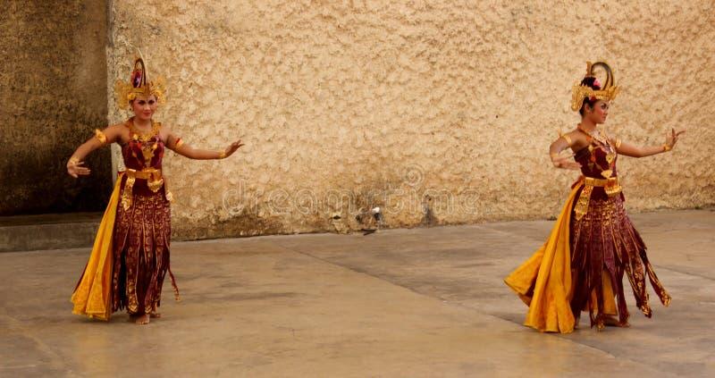 Danza de Bali tradicional foto de archivo