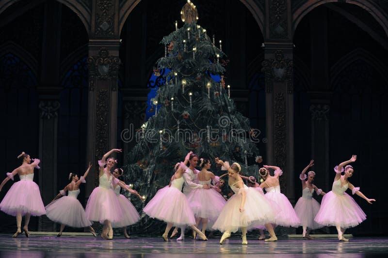 Danza de hadas del caramelo el segundo reino del caramelo del campo del acto segundo - el cascanueces del ballet foto de archivo