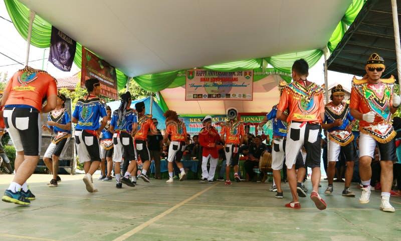 Danza de Kubro Siswo fotografía de archivo