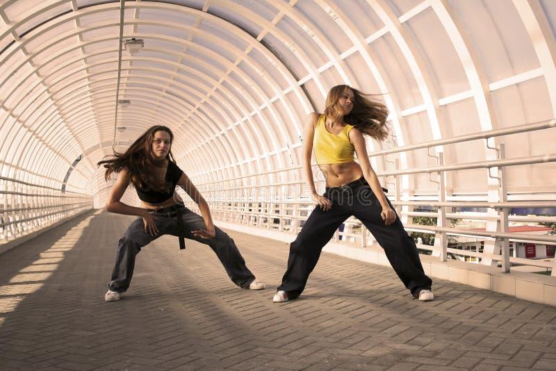 Danza de la calle fotografía de archivo libre de regalías