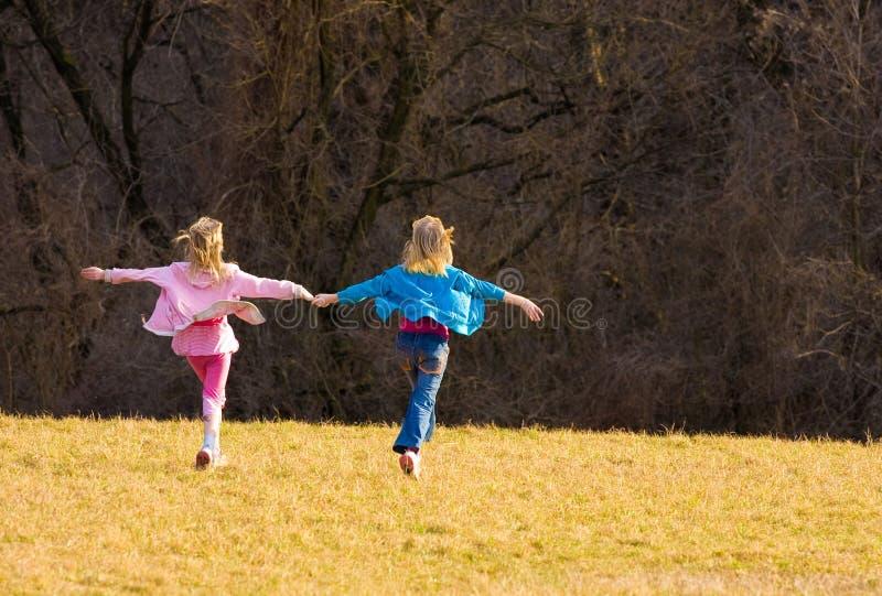 Danza de la primavera fotos de archivo