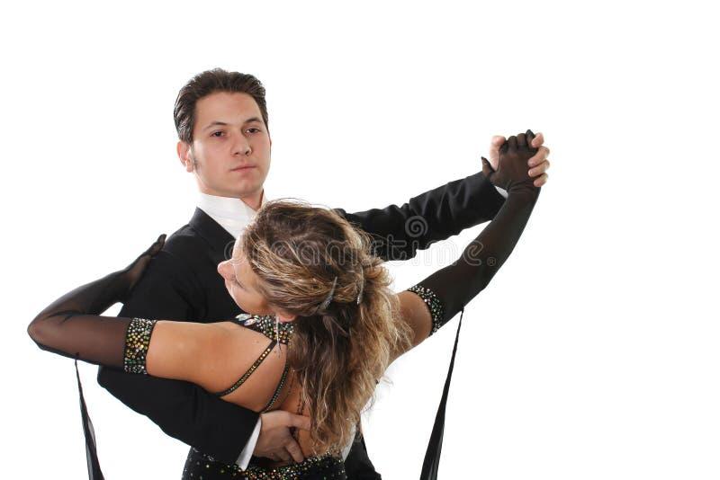 Danza de salón de baile imagenes de archivo