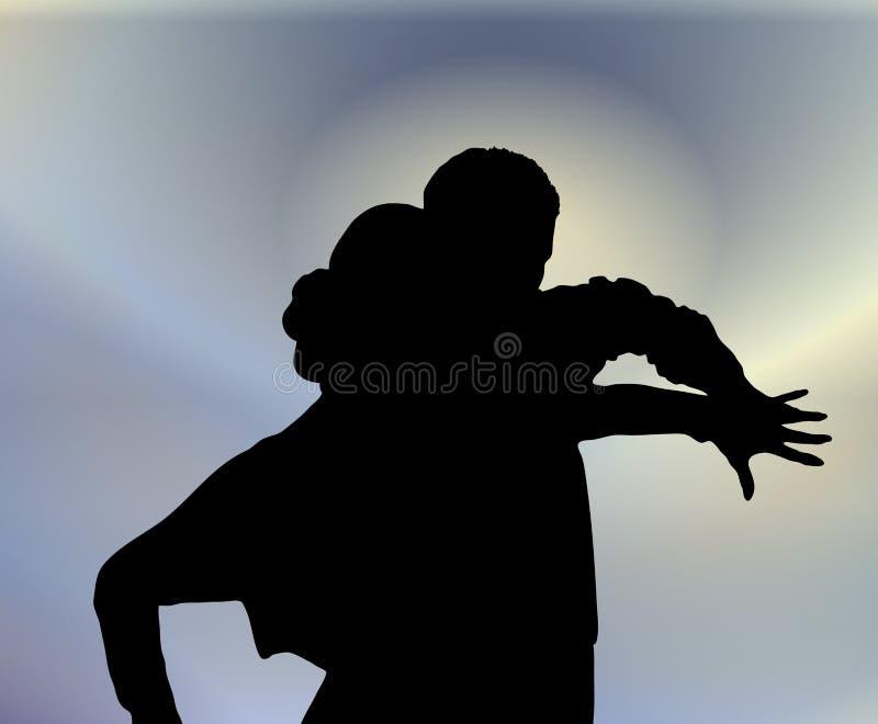 Danza de salón de baile 4 libre illustration
