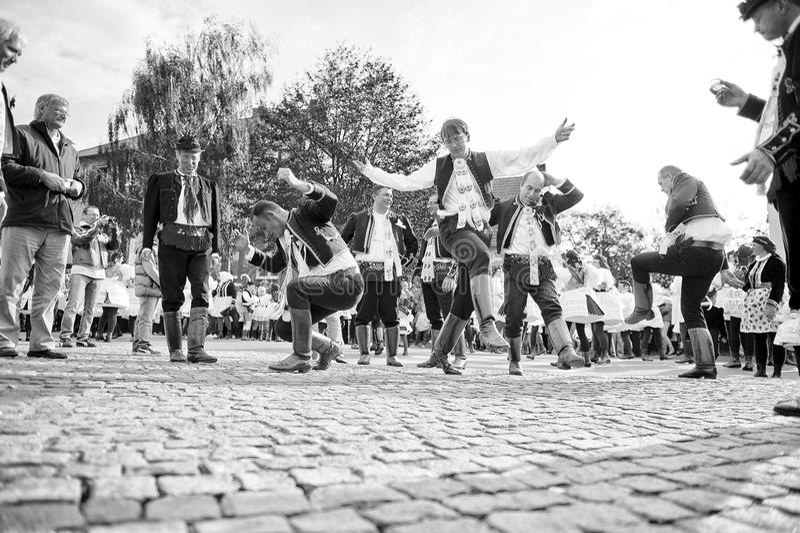 Danza de Verbunk foto de archivo