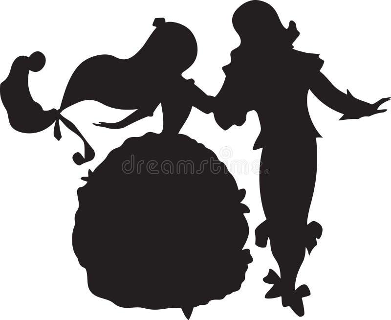 Danza del cuento de hadas libre illustration