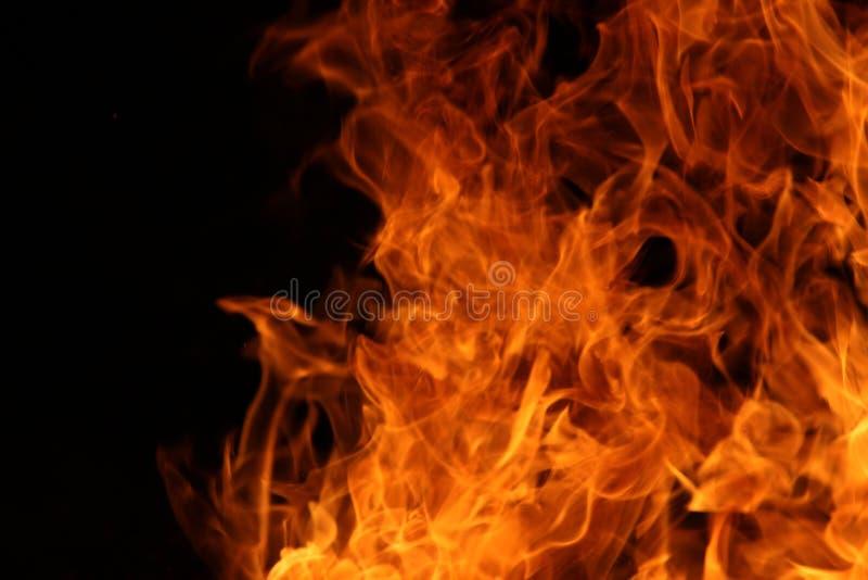 Danza del fuego del campo fotos de archivo