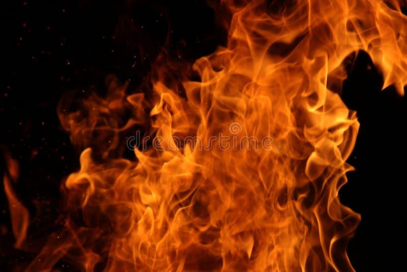 Danza del fuego del campo fotografía de archivo