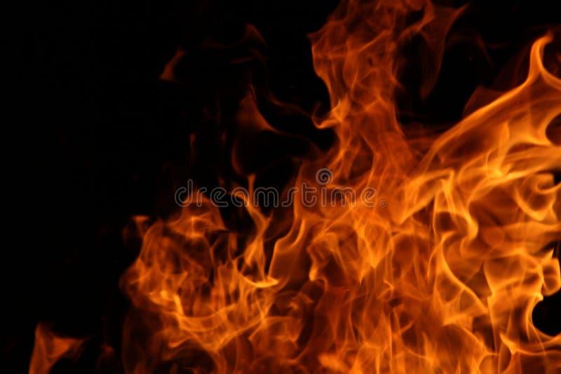 Danza del fuego del campo imagenes de archivo