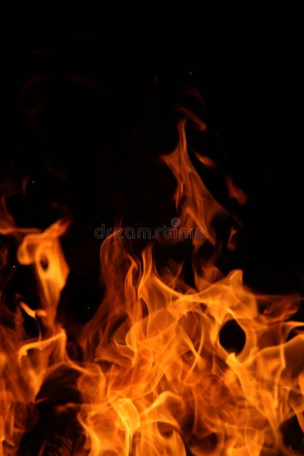 Danza del fuego del campo imagen de archivo libre de regalías