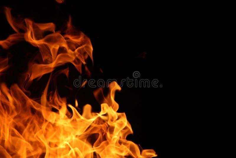 Danza del fuego del campo imagen de archivo