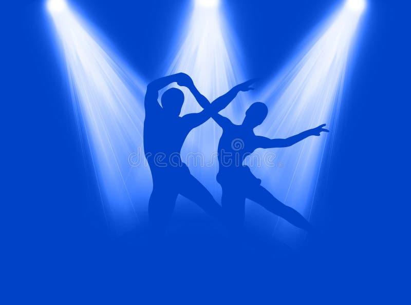 Danza en el proyector libre illustration