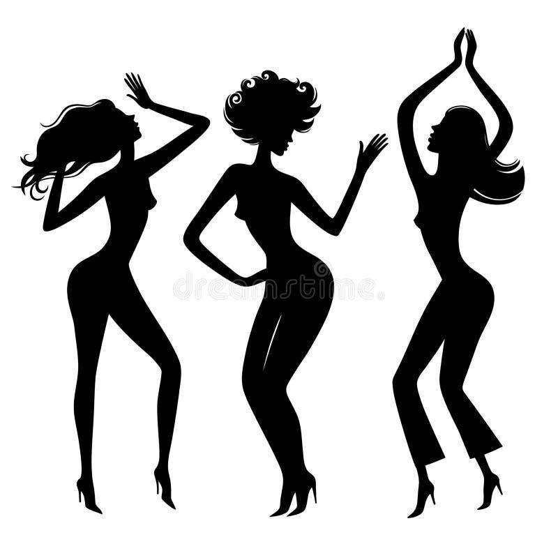 Danza girl4 ilustración del vector