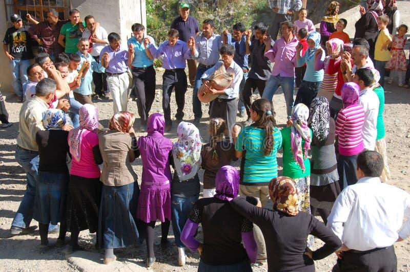 Danza local de Turquía imágenes de archivo libres de regalías