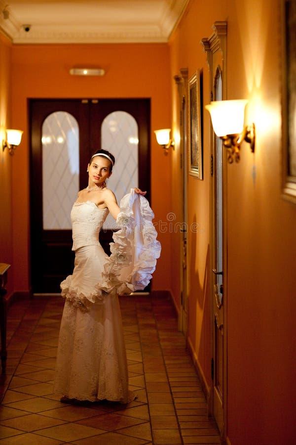 Danza Mágica Con Una Alineada Foto de archivo libre de regalías