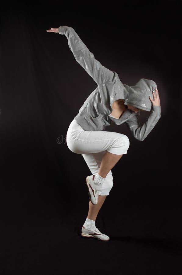 Danza moderna foto de archivo libre de regalías