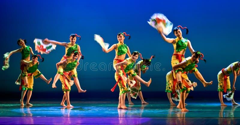 Danza moderna china imagen de archivo libre de regalías