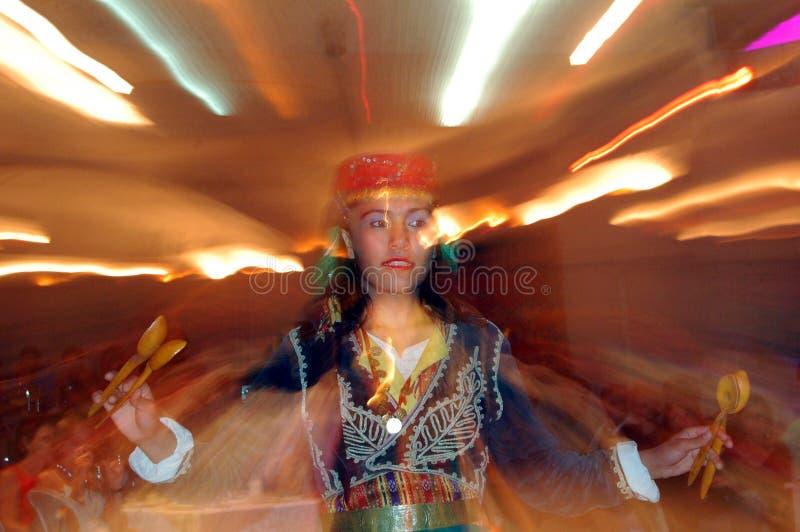 Danza nacional del turco fotos de archivo