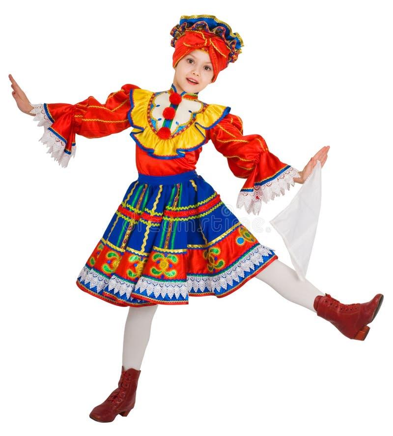 Danza nacional rusa. fotos de archivo libres de regalías
