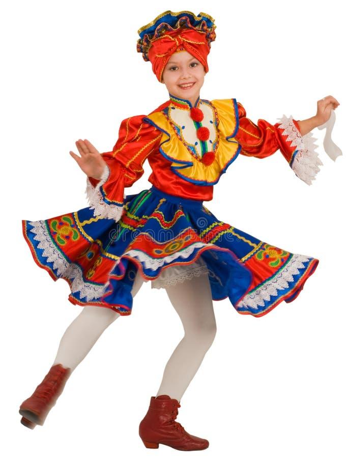 Danza nacional rusa. imagenes de archivo