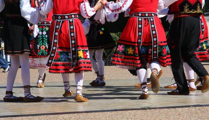 Danza popolare nel Texas fotografie stock libere da diritti
