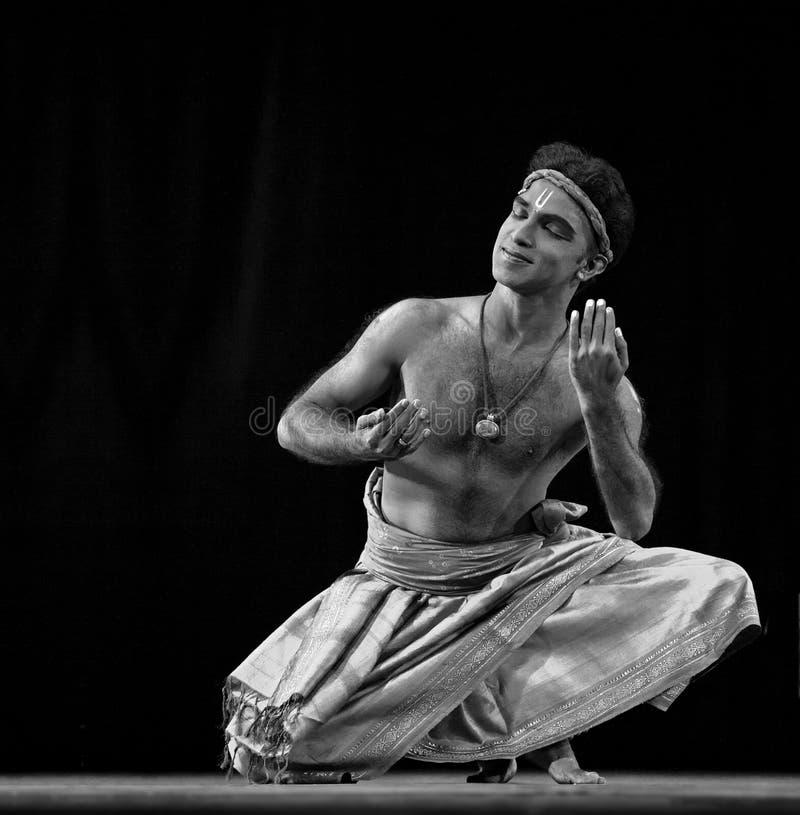 Danza popular india fotografía de archivo libre de regalías