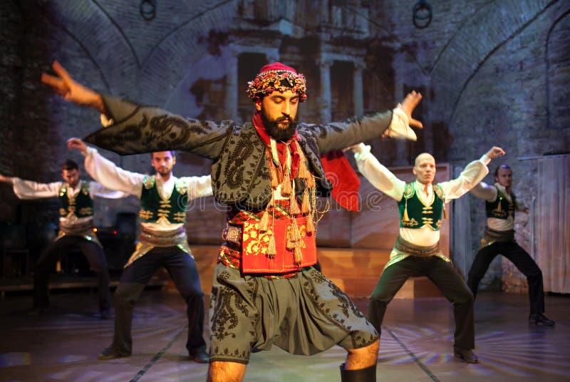 Danza popular turca fotografía de archivo libre de regalías